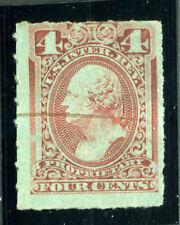 Bigjake: RB15c, 4 cent Proprietary - rouletted - Revenue