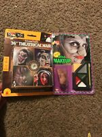 Witch Makeup Kit Nose Included & Instructions Halloween Costume Accessory Hair
