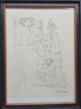 PABLO PICASSO (1881-1973)-Suite Vollard 1952-Handsigniert -Original -Lithografie