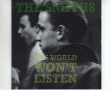 CD THE SMITHS	the world won't listen 	EX  GERMAN 1986  (B2861)