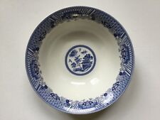 Chinese Garden, Blue By Emerald, Porcelain Vegetable Seving Bowl RARE!