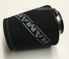 Universal 60mm RamAir Offset Racing Performance Cone Air Filter - Car, Quad, ATV