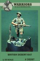 Warriors 1:35 British Desert Rat Resin Figure Kit #35287