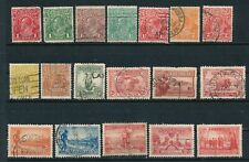 Australia *52 Diff (1914-49)* Mostly Used; Incl #5; All Sound; Cv $97