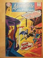 Adventure Comics #365 DC 1st App Shadow Lass 1968 SUPERBOY LEGION OF SUPERHEROES