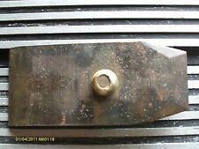 "Moselely & Son plane cap iron 4 1/2"" x 2"""