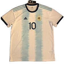 2019 Argentina Home Jersey #10 Messi XL ADIDAS Copa America ALBICELESTE NEW
