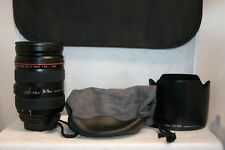 Canon Zoom Lens EF 24-70mm 1:2.8 L USM Ultrasonic Macro 0.38m/1.3ft With Case