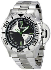 Haurex Italy 7D365UNV Black Sea Day/Date Men's Sport Diver Watch $800 NEW