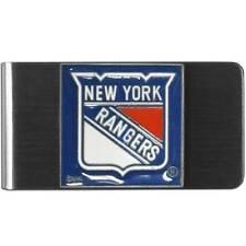 New York Rangers Nhl Stainless Steel Money Clip