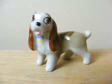Vintage Wade Disney Dog Lady Miniature Animal Figurine