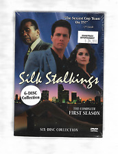 SILK STALKINGS The Complete First Season Mitzi Kapture NEW R1 Anchor Bay