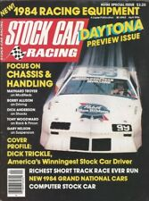 STOCK CAR RACING 1984 APR - Allison, Elliott, Troyer, Woodward, Nelson, Trickle