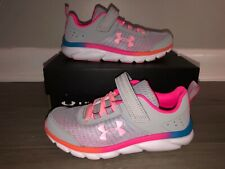 NEW Girls Youth Size 2Y UNDER ARMOUR UA PS ASSERT 8 AC Running Shoes Sneakers