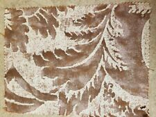 Fortuny fabric - Glicine, rust and blue on Parchment