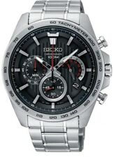 Seiko Gents Chronograph Stainless Steel Watch - SSB299P1 NEW