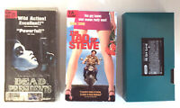 VHS Movies Lot of 3 Sports Indie Comedy Romance Thriller Drama Action TESTED