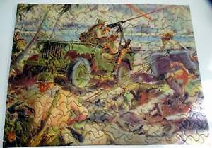 Vintage WWII Tuco Jigsaw Puzzle Complete