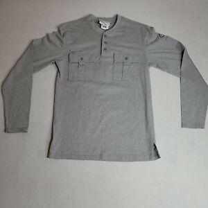 Rasco FR Shirt Flame Resistant Long Sleeve Utility Henley Tee Mens Sz Medium