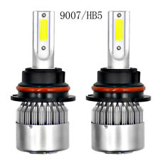 9007 HB5 LED Headlight Conversion Kit 1800W 270000LM High Low Beam Bulbs 6000K