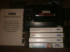 Sega Master System 2 Console sonic Built-in & 4 boxed Games