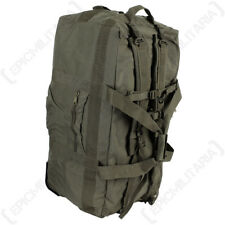 Duffle Bag with Wheels - Olive Drab Large Holdall 118 Litres Rucksack Travel Bag