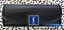 Vintage Yves Saint Laurent Ysl Black & Blue Glasses Case!