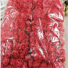 144pcs/package PE Rose Foam Mini Artificial Silk Flower Bouquet DIY Wedding Deco