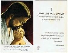 Esquela del Capitán de fragata Juan Luis Mas García 1975