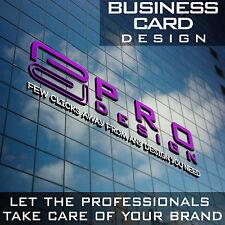 Business card design, print ready, high quality