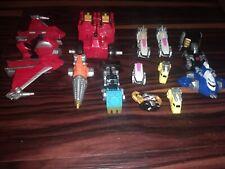 Power Rangers Operation Overdrive Transmax Megazord Micro Zord Vehicle Lot