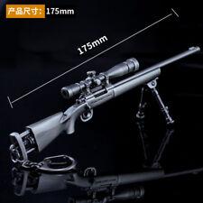 1/6 1:6 PUBG M24  Sniper Weapon gun US BattleField4 Battleground Metal 6.7inch