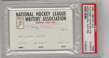 1969 Bobby Orr Record Most Goals Defenceman 21/ PSA Full Ticket Boston Bruins