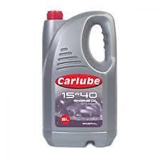 Carlube 15w40 Mineral Motor Engine Oil 4.55L XPP050 API SL/CF ACEA A3/B3