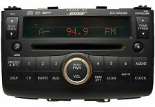 09 08 10 Nissan ROGUE Bose Radio MP3 AUX IN 6 Disc CD Changer SAT XM Radio PY01F