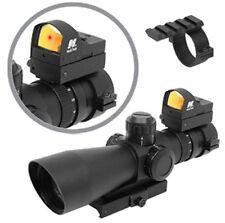 NcStar Mark III P4 Sniper 3-9X42/Scope Gen II Adaptor/Red Dot STP3942G/D v2