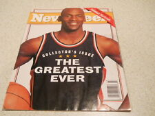 "Newsweek Collectors Issue: ""Michael Jordan, The Greatest Ever"" (Oct/Nov 1993)"