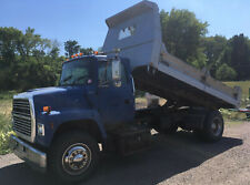 1997 Ford Ln8000 Dump Truck w/ Contractor Bed, 8.3L Cummins Diesel, 6 Sp Eaton