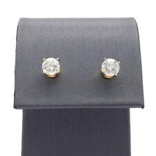 New Kay Jewelers 1ctw Round Solitaire Diamond Screw Back Stud Earrings