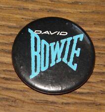 DAVID BOWIE SERIOUS MOONLIGHT TOUR GENUINE ORIGINAL VINTAGE PIN BUTTON BADGE