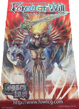 Force of Will FOW TCG Faria Ruler of Divine Beasts ORIGINAL WALL BANNER NEW