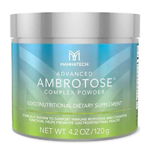One Mannatech Advanced Ambrotose 120G Powder Brand New Sealed