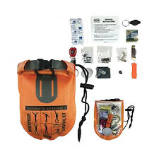 BCB Waterproof Survival Dry Bag Kit -Military Bush-craft Outdoors Hiking Walking
