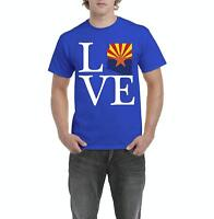 Love Arizona  Men Shirts T-Shirt Tee