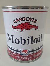 Antique Mobil Gargoyle Oil Can 1 qt. - ( Reproduction Tin Collectible )