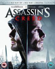 Assassins Creed 3D+2D Blu-Ray NEW BLU-RAY (6367215000)