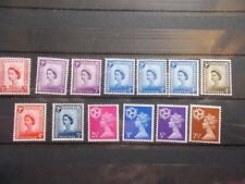 GB 1958-1971 Regionals Collection~Isle of Man~(13)~no chalky~MNH~UK Seller