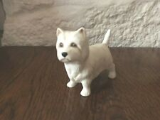 Vintage Scottish Terrier Dog in White, By Country Life Design Studio, England