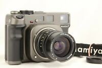 【Optics NEAR MINT+】 MAMIYA 7 Medium Format Camera w/ N 65mm f/4 Strap from JAPAN