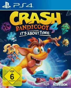 Crash Bandicoot 4: It's About Time - Sony PlayStation 4 - PS4 Spiel